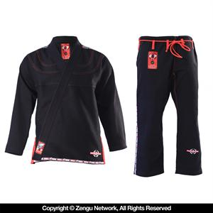 Grab and Pull Premium Black BJJ Gi 2.0